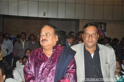 Orissa Cinema.com Editor in Chief ashok Palit with Legendary Director Prasant Nanda