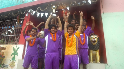 Winning Team KFC - Keonjhar Football Club - The State Champion